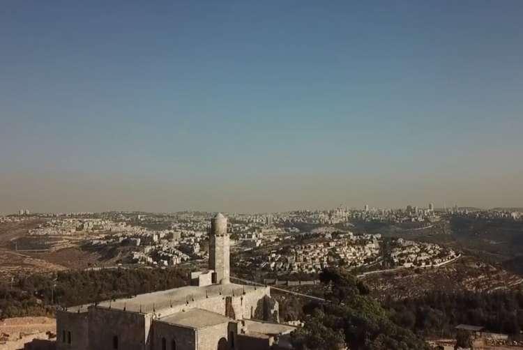 Photo of Watch: Drone View of Shmuel Hanavi's Gravesite