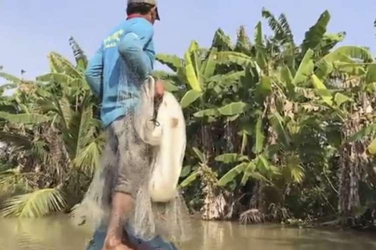 Photo of Watch: Unique Fishing Technique