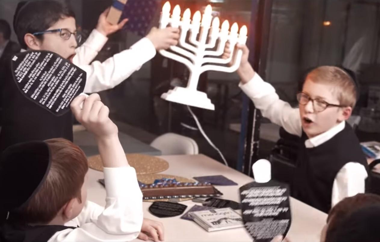 "Photo of New York Boys Choir – ""Spin That Dreidel"""