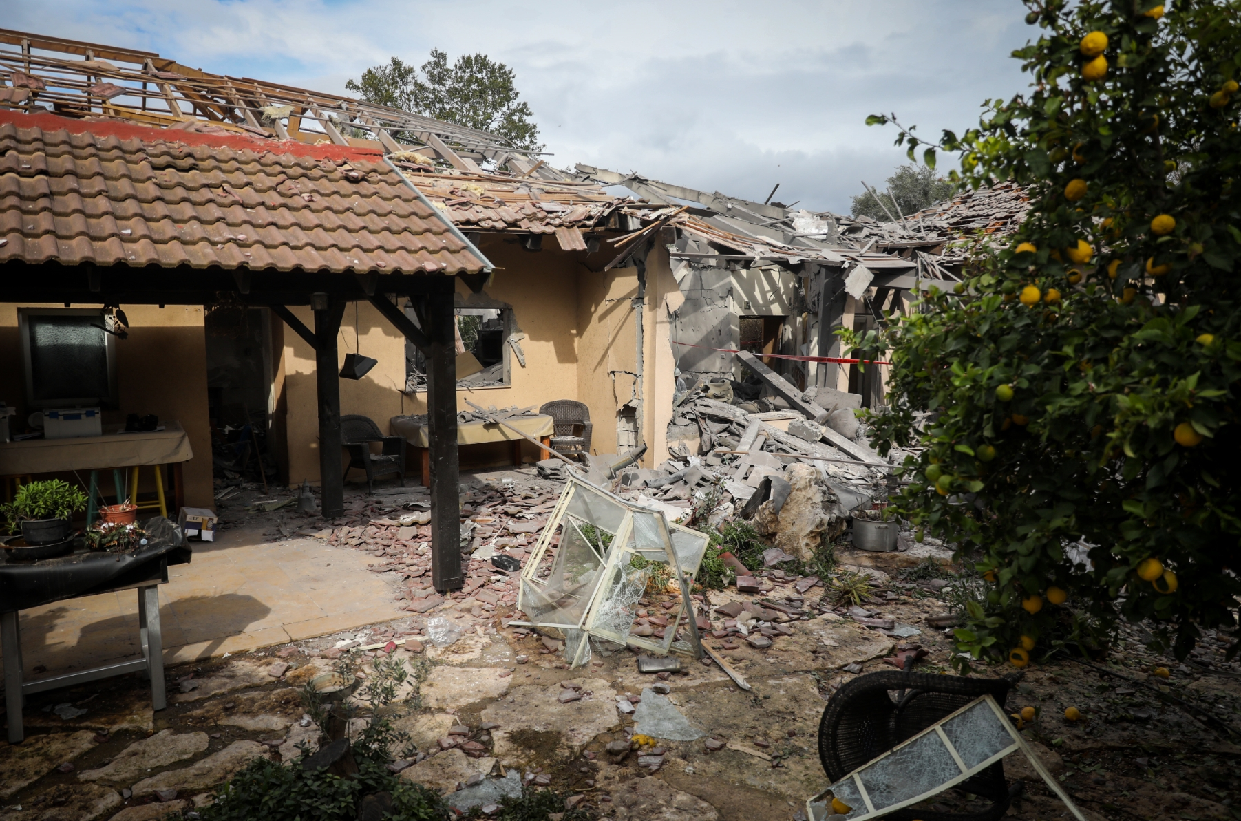 Photo of Gaza Rocket Strikes Home in Central Israel: See Images of Horrific Destruction & Huge Miracles