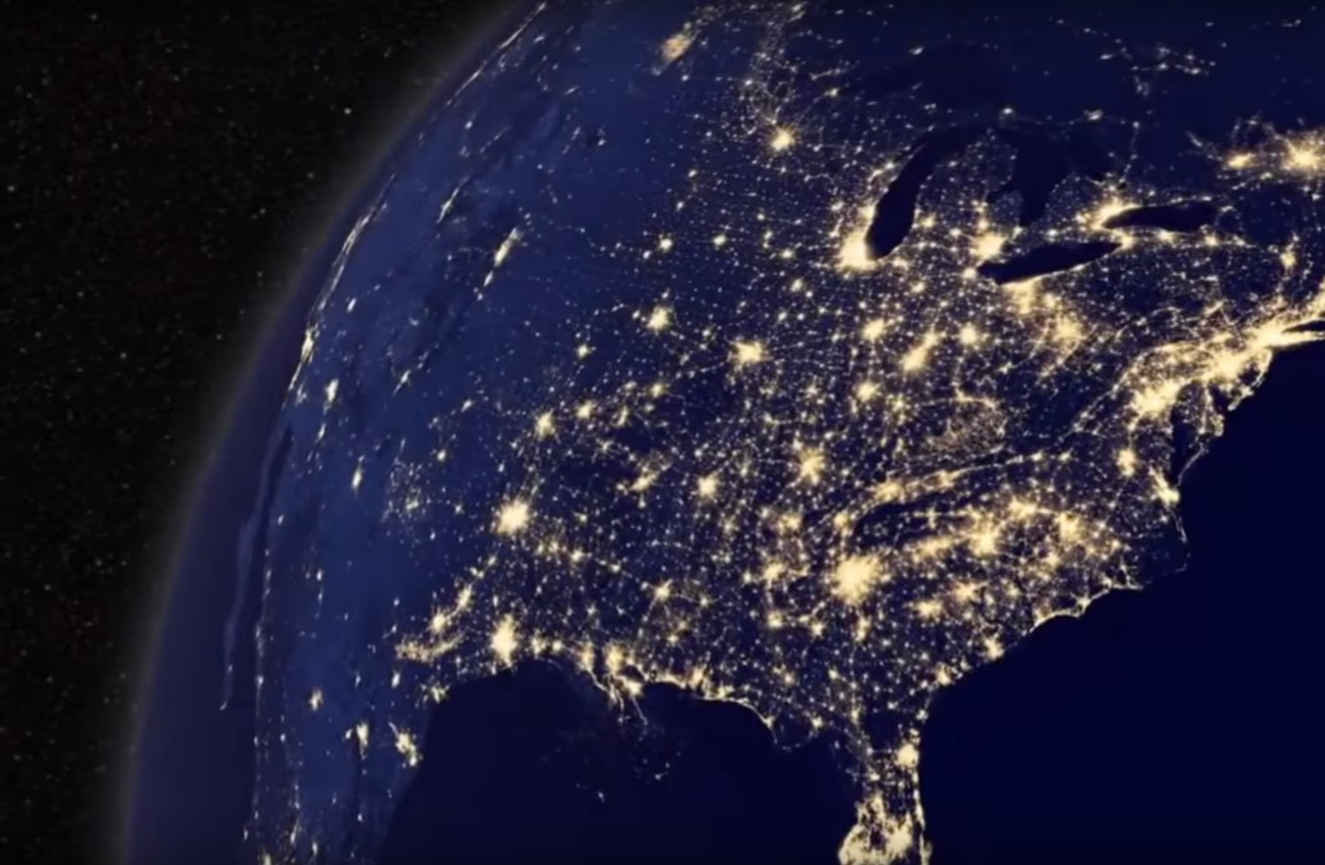 Photo of Stunning Footage of Earth at Night – Must See