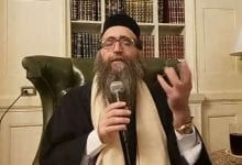 "Photo of Chief Rabbi of Morocco's Heartrending Call:  ""We Must Keep Our Children!"""